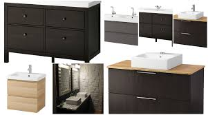 bathroom ikea black vanity with linen storage cabinet ikea also