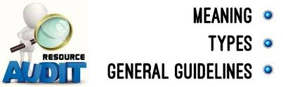 Types Meaning Resource Audit Meaning Types General Guidelines
