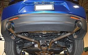 camaro exhaust system mrt v6 axle back exhaust for 2016 2017 camaro lt 91u802