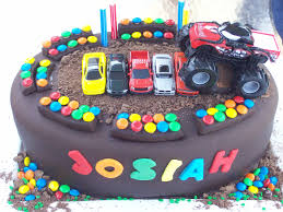 amazing monster truck cake layout birthday cakes gallery