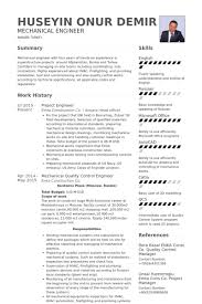 Best Mechanical Engineer Resume by Project Engineer Resume Berathen Com