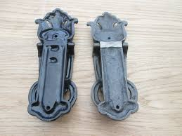cast iron vintage style victorian ornate decorative door knocker