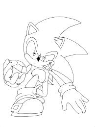 sonic characters coloring pages super sonic coloring pages free printable super sonic coloring pages