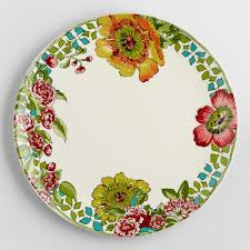 nomad dinner plates set of 4 world market