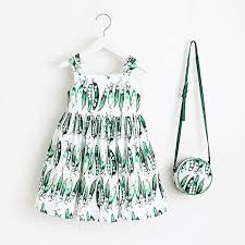 Baby Girls Dress Summer 2018 Brand Kids Clothes Toddler Dress with