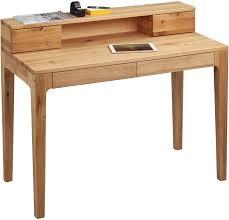 Schreibtisch 110 Cm Hometrends4you 612522 Schreibtisch 110 X 76 96 X 55 Cm Wildeiche