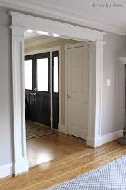 How To Frame A Interior Door Interior Door Moulding Ideas Best 25 Door Molding Ideas On