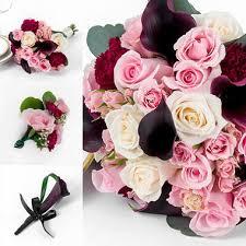 sams club wedding flowers marsala enchanted wedding collection 17 pc sam s club
