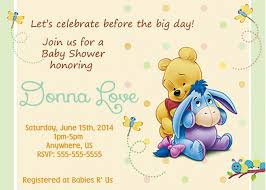 top collection of personalized winnie the pooh baby shower