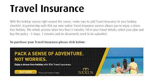 buy travel insurance images Rsa travel insurance nexus nexus jpg