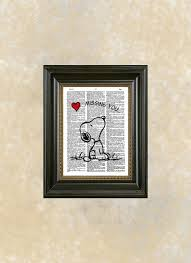 Snoopy Nursery Decor Cool Snoopy Wall Together With Dictionary Missing You