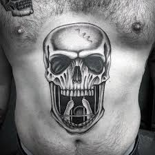top 100 best stomach tattoos for masculine ideas