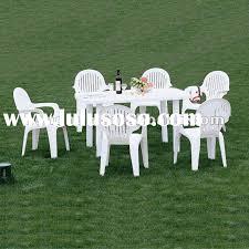 plastic rectangular outdoor table white plastic patio table and chairs white plastic patio tables