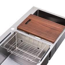 Double Bowl Stainless Steel Kitchen Sink Megabai Bai 1229 48