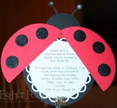 ladybug invites free printable invitation design