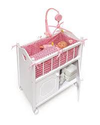 badger basket doll crib with cabinet badger basket doll crib with cabinet bedding and mobile chevron