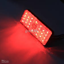 led lights for motorcycle for sale red led rectangle reflectors brake light universal motorcycle