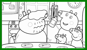 peppa pig valentines coloring pages best of peppa pig house coloring for valentines page popular and