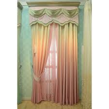 ombre elegant energy saving nice valance curtains