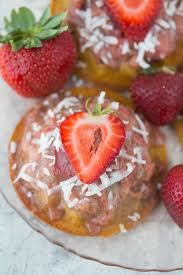 strawberry rhubarb upside down cake gluten free