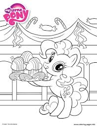 my little pony cute cupcake coloring pages printable