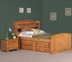 Full Size Captains Bed With Drawers White Bookshelf Headboard Full Image For Bookcase Headboard Queen