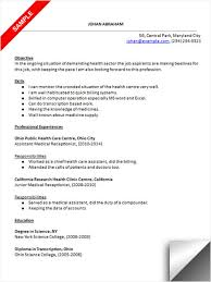 Health Care Resume Sample by Medical Receptionist Resume Sample Resume Examples Pinterest