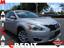 nissan altima key battery low 2014 used nissan altima 2 5 s at miami car credit llc serving