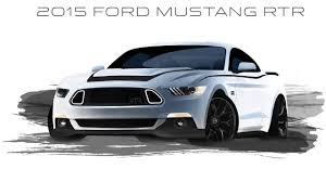 2015 ford mustang rtr first 2015 mustang rtr sketches revealed