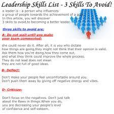 Group Leader Resume It Skills Resume Leadership Skills Resume Sample Resume Leadership