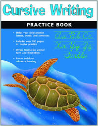 cursive writing practice book flash kids harcourt family learning