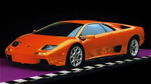 lamborghini diablo orange image lamborghini diablo vt supercar orange auto 3840x2160