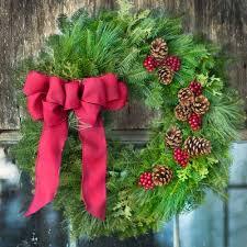 fresh christmas wreaths christmas wreaths products christmas decorations harbor farm