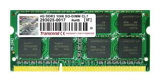 Memory 4gb Pc in buy transcend 4gb ddr3 1066mhz notebook memory at