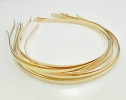 metal headbands 20pcs headbands metal headbands 5mm gold headbands gold metal