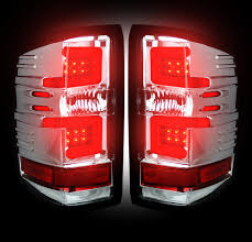 recon part 264238cl clear led lights with smooth led oled