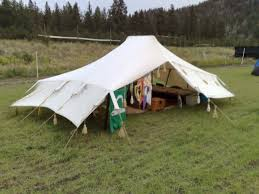 how to make a bedouin tent or a middle eastern medieval tent