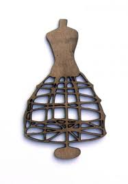 wire cage dress form