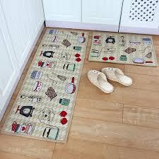 Door Runner Rug Yazi Kitchen Theme Mat Fabric Floor Carpet Bedroom Kitchen Runner