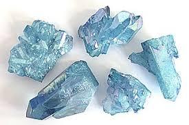 aura crystals aqua aura quartz