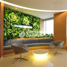 artificial garden vertical plants wall for indoor office