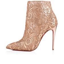 gipsybootie 100 nu cipria dentelle women shoes christian louboutin