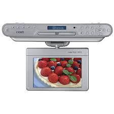 Under Cabinet Kitchen Tv Dvd Combo Fingerhut Coby Under Cabinet 7