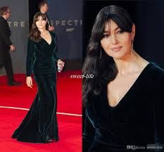ralph u0026 russo 2016 dark green velvet long sleeves celebrity