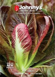 seed catalogs johnny u0027s selected seeds seed catalogs pinterest