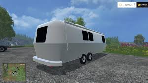 airstream camper v1 mod farming simulator 2017 2015 15 17