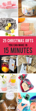25 easy gifts you can make in 15 minutes it s