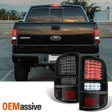 aftermarket lights for trucks 2004 2005 2006 2007 2008 ford f150 full led black smoke tail lights