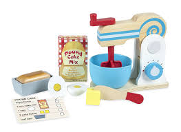 amazon com melissa u0026 doug wooden make a cake mixer set 11 pcs