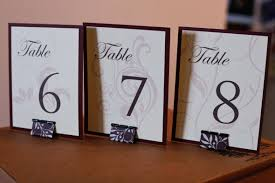 diy table number holders diy cost effective table numbers found on weddingbee